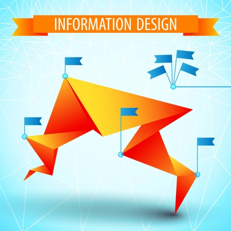 Business diagram template with text fields Illustration, contains transparencies  Vector