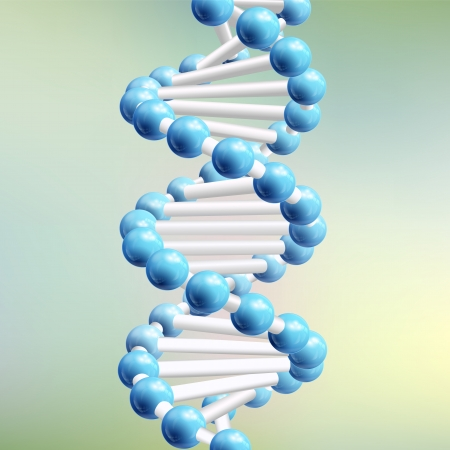 Sience DNA  Vector Illustration, eps10, contains transparencies  Vector