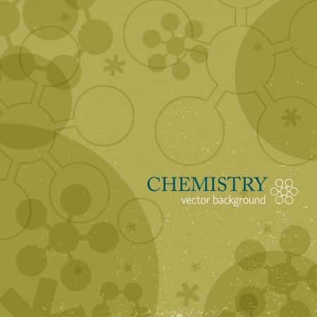 Molecule background  Vector Illustration, eps10, contains transparencies  Stock Vector - 17631163