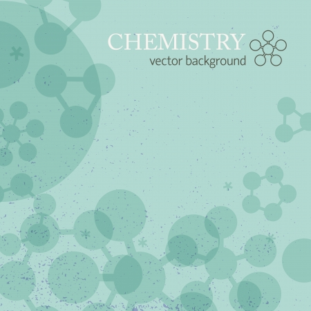 Molecule background  Vector Illustration, eps10, contains transparencies  Stock Vector - 17631168