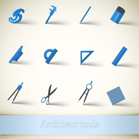 Industrial vector icon set  Vector Illustration, contains transparencies  Stock Vector - 17750277