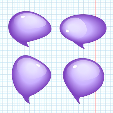 Set of vector Realistic Bubbles  Vector Illustration, eps10, contains transparencies  Stock Vector - 17750280