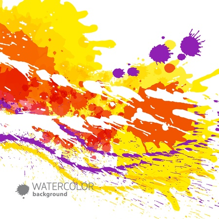 Abstract artistic Background  Vector Illustration, eps10, contains transparencies  Stock Vector - 17910505