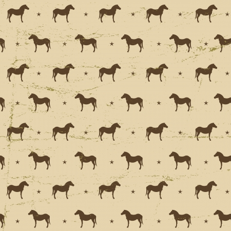 luck charms: Horses seamless pattern  Vector Illustration, eps10, contains transparencies  Illustration