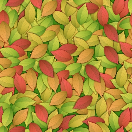 Nature abstract colorful seamess pattern  Illustration,  contains transparencies  Vector