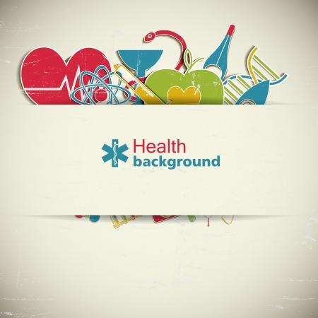 скорая помощь: Медицинская Иллюстрация фона, содержит прозрачные пленки
