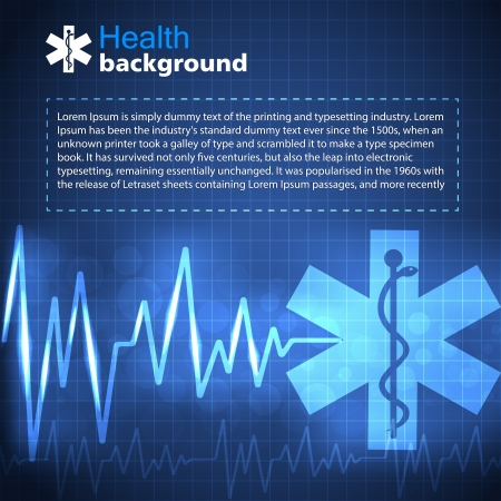 Medical background  Vector Illustration, eps 10, contains transparencies  Vector