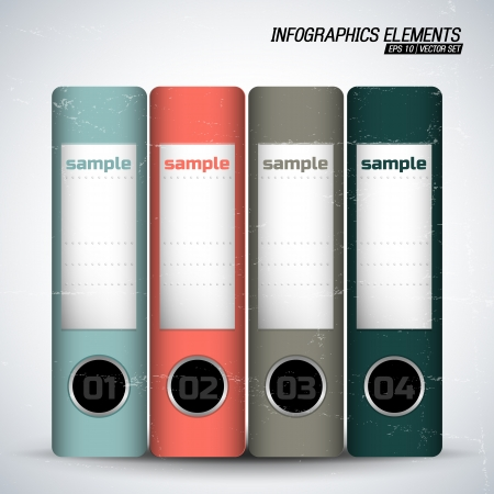 Business concept with text fields  Vector Illustration, eps10, contains transparencies  Vector