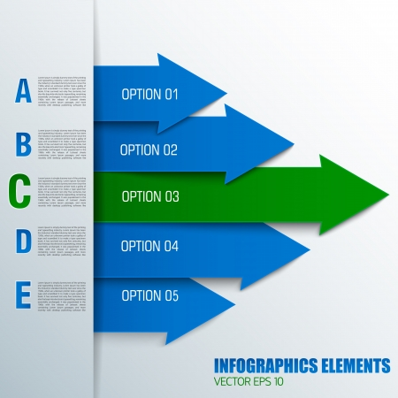 titles: Business concept with text fields  Vector Illustration, eps10, contains transparencies