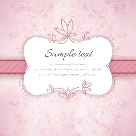 Vintage flowers background  Vector Illustration, eps10, contains transparencies  Stock Vector - 20079079