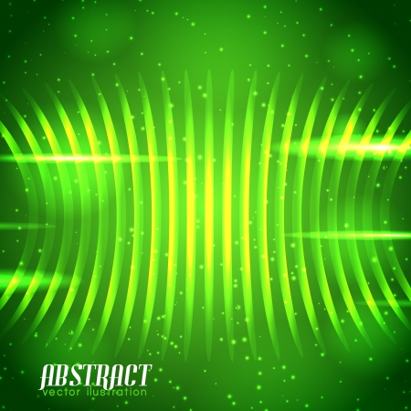 Shiny wave abstract background  Vector Illustration, eps10, contains transparencies  Vector