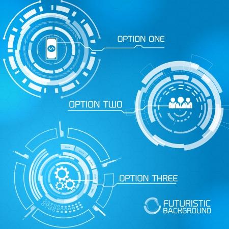 tecnologia virtual: Moderna tecnolog�a virtual de fondo Ilustraci�n vectorial, contiene transparencias