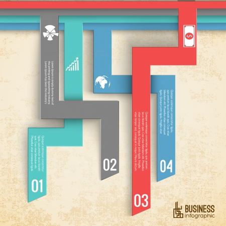 Modern design. Business background.  Illustration