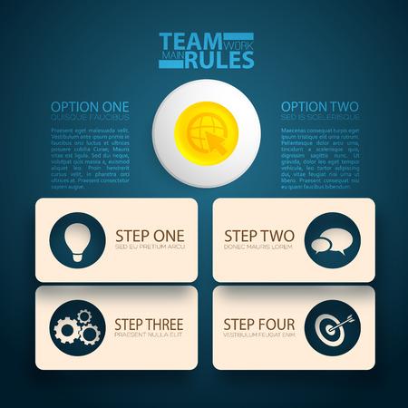 eps10: Business design concept. Background. Vector Illustration, eps10, contains transparencies. Illustration