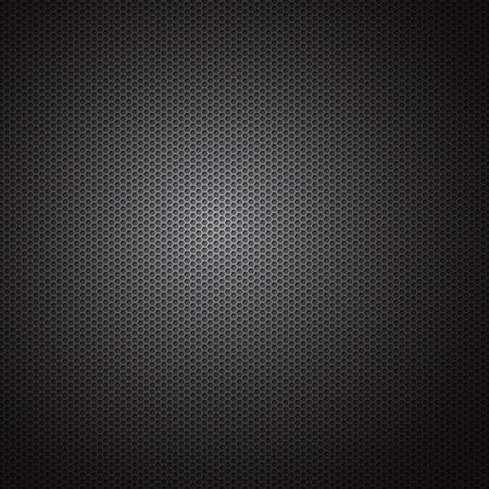 metal background: Metal texture. carbon industrial background - Vector illustration