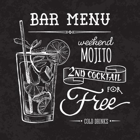 cócteles y bebidas alcohólicas dibujo vectorial dibujado a mano ilustración Conjunto de cócteles de dibujo e ilustración de bebidas alcohólicas vector dibujado a mano