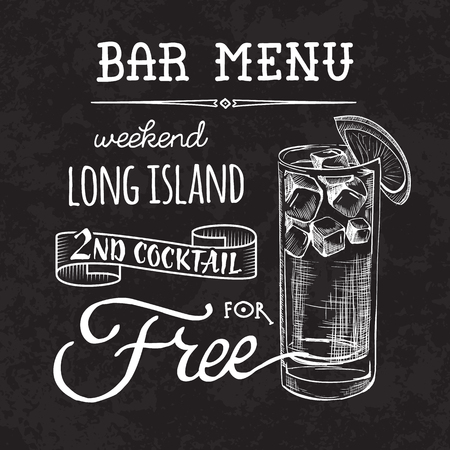 Sketch cocktails and alcohol drinks vector hand drawn illustration Set of sketch cocktails and alcohol drinks vector hand drawn illustration Vettoriali
