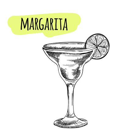 pina: Sketch cocktails and alcohol drinks vector hand drawn illustration Set of sketch cocktails and alcohol drinks vector hand drawn illustration Illustration