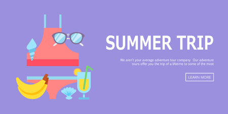 holiday vacation: World Travel. Planning summer vacations. Summer holiday. Tourism and vacation theme. Flat design vector illustration. Material design.
