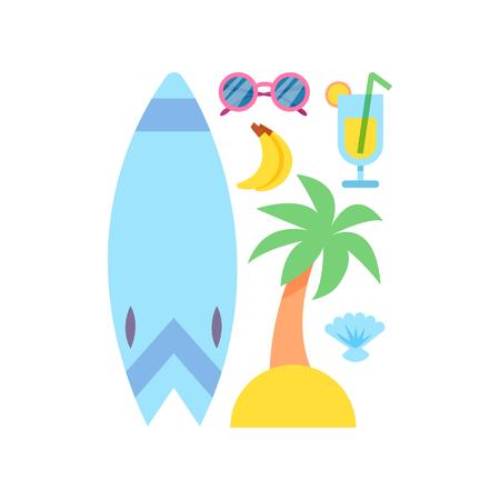 Weltreise. Die Planung der Sommerferien. Sommerferien. Tourismus und Urlaub Thema. Flaches Design Vektor-Illustration. Material Design. Standard-Bild - 66785006