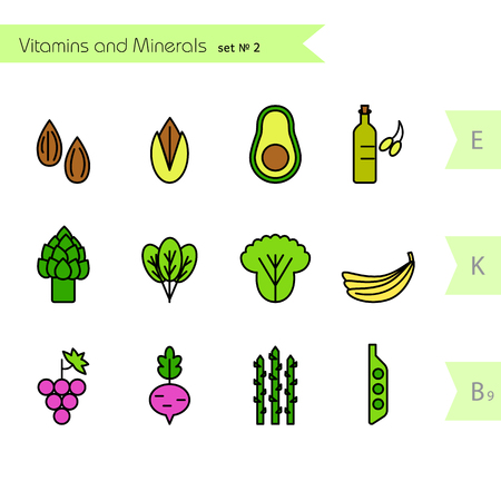Healty food background representing