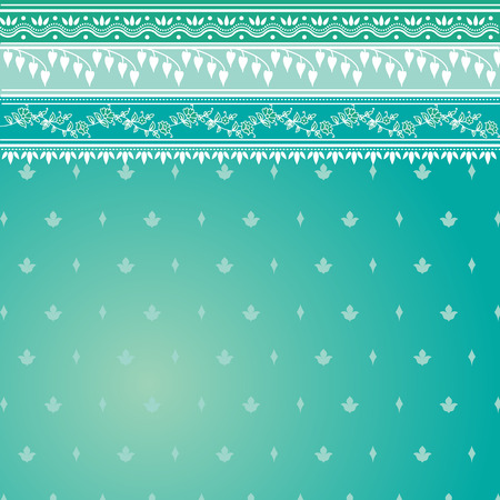 india pattern: Blue indian sari background