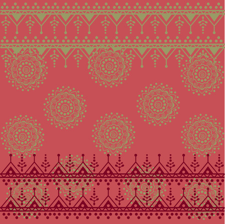 Traditional pink Indian saree background