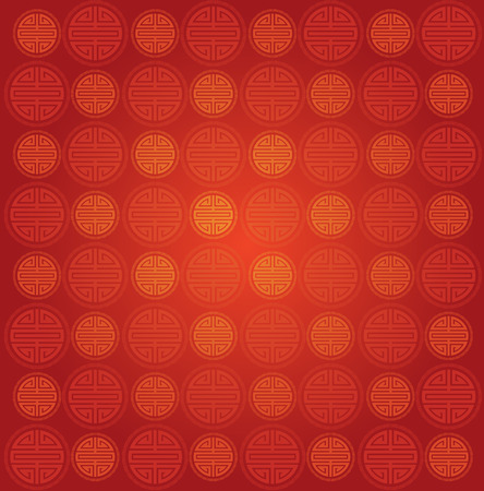 Traditional Chinese symbol seamless wallpaper