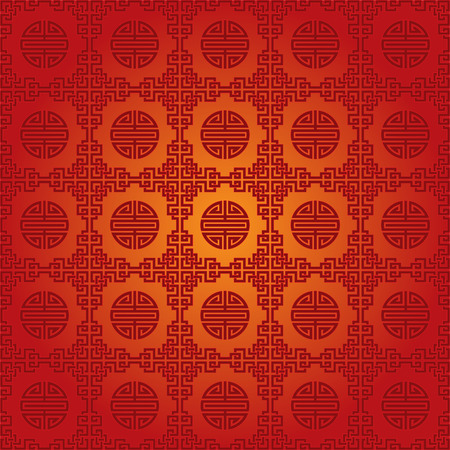 textiles: Traditional Chinese symbol seamless wallpaper