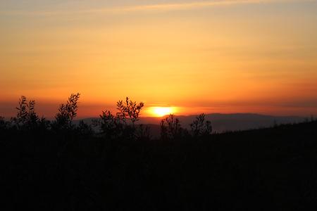 sunset Reklamní fotografie - 89325522