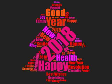 New year icon design Reklamní fotografie - 89824141