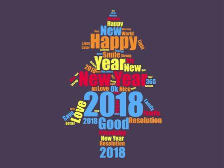New year icon design Reklamní fotografie - 89824125