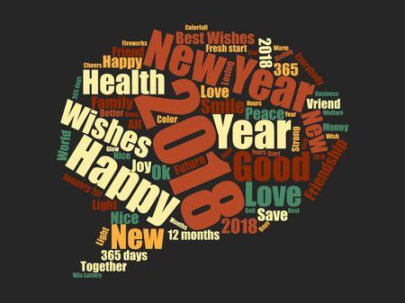 New year icon design Reklamní fotografie - 89824138