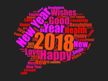 New year icon design Reklamní fotografie - 89824132