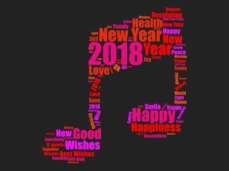 New year icon design Reklamní fotografie - 89824285