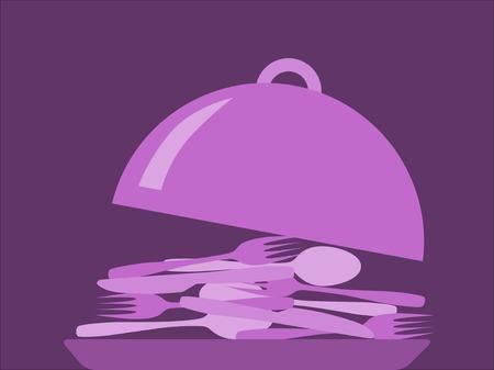 Drawing kitchenware illustration Ilustrace