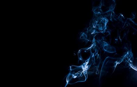 awry: smoke Stock Photo
