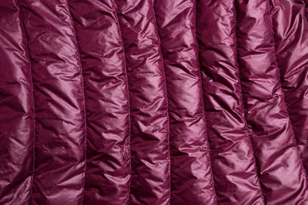 Close-up of a red leather texture background.