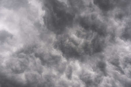 Stormy Sky with dark clouds texture