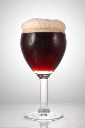 schwarzbier: Dunkles Bier Glas