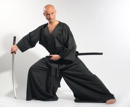 Ken-do warrior studio shot photo