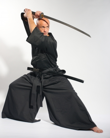 Ken-do warrior studio shot photo
