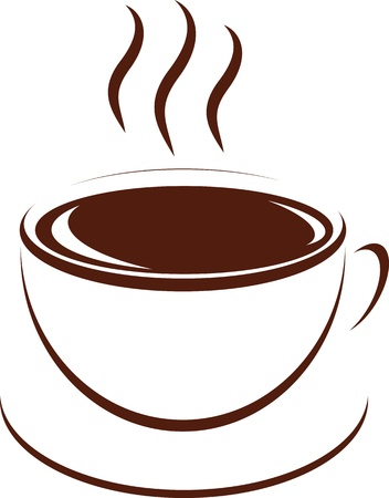 cofe: cup of coffee, vector illustration