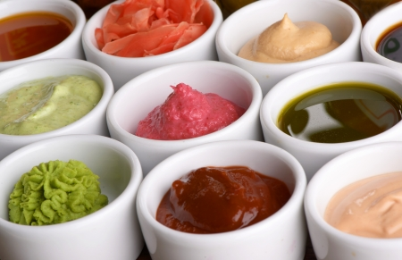 condiment: sauces collection