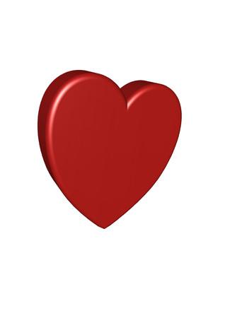 3d Heart Illusztráció