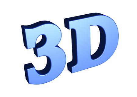 3d: 3D Blue Stock Photo