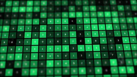 Rise of the AI age, artificial intelligence data transfer. 版權商用圖片