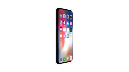 Chernivtsi, Ukraine - July 11, 2019: Modern version of black slim iPhone 11. Front and side view.
