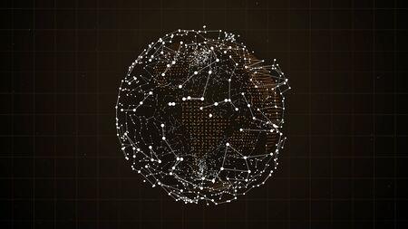 Strom- und Energiekonzept abstrakter Hintergrund.