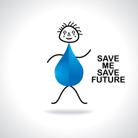 appeal: water drop crying appeal save me for future